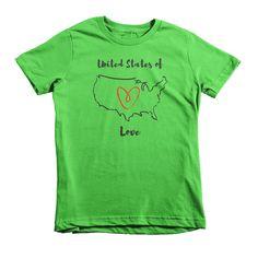 United States of Love Tee