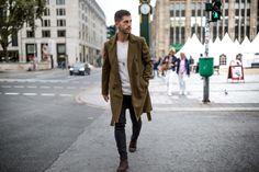 Fall/Winter street style inspiration Follow... | MenStyle1- Men's Style Blog