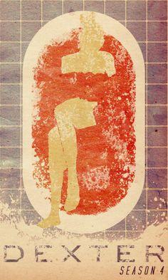 dexter, minimalist movie poster