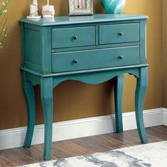 Furniture of America Eloisa Vintage Style 3-drawer Hallway Table | Overstock.com Shopping - The Best Deals on Coffee, Sofa & End Tables