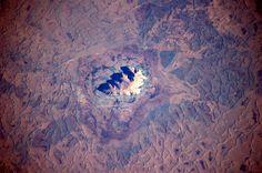 Uluru, Australia. World heritage site. Picture: Astronaut Soichi Noguchi