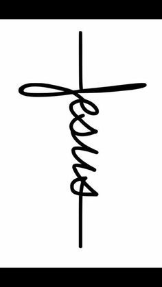 Jesus and cross. Could be a good tattoo or wall decor. Jesus and cross. Could be a good tattoo or wall decor. Images Bible, Bibel Journal, Craft Quotes, Christian Christmas, Bible Art, Vinyl Projects, Body Art Tattoos, Tatoos, Christian Quotes