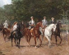 Seeking superior fine art prints of The Morning Ride, 1900 by Heywood Hardy? Fine Art Prints, Equestrian Art, Fine Art, Old Paintings, Art Reproductions, Art, Horse Painting, Painting, Animal Paintings