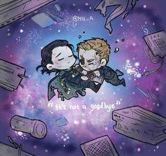 It's not a goodbye #BringBackLokiAlive || Avengers Infinity War || Thor & Loki || Cr: miu_A