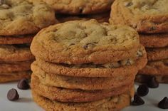 Chocolate Chip Cookies Recipe - Joyofbaking.com *Video Recipe*