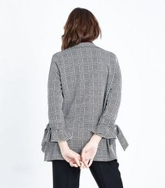 Prezzi e Sconti: #Cameo rose grey prince of wales check blazer  ad Euro 17.99 in #New look #Womens clothing jackets coats