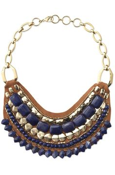 My favorite bib necklace...wear now or wear later...a great year round look!! $228 Check it out at www.stelladot.com/avradesigns