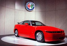 Alfa romeo SZ...When concept becomes production