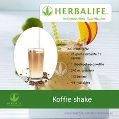 Herbalife recept voor koffie liefhebbers