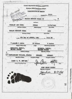 Free printable stuffed animal birth certificates free printables barack obama kenyan birth certificateobama gets notice of default in calif court over forgery allegations yelopaper Choice Image