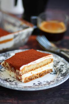 Τιραμισού χωρίς αυγά – Cool Artisan Tiramisu, Sweet Recipes, Ethnic Recipes, Food, Meals, Yemek, Eten, Tiramisu Cake