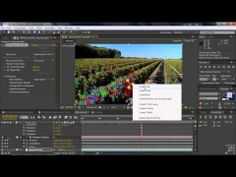 Adobe After Effects CS6 Tutorial   Attaching Content To 3D Camera Track Points