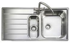Rangemaster OAKLAND 1.5 Bowl Stainless Steel Kitchen Sink
