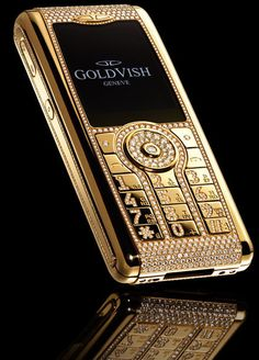 Golrvish made with 18K gold Worlds most expensive mobile phone