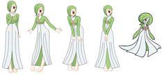 Gardevoir cosplay costume base by Demondreans667
