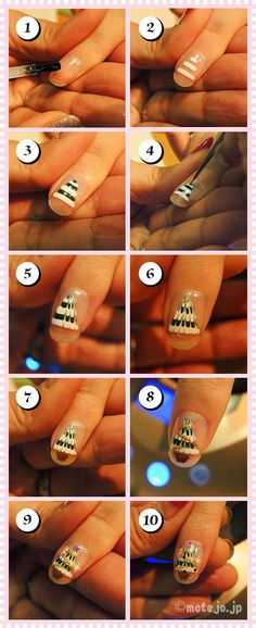 how to  christmas nail