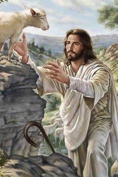 Jesus saves the Lamb (us)