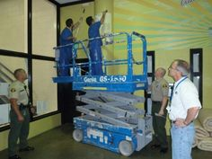 Commercial Painting Courses: Include instruction in brushes, rollers, spray equipment, abrasive blasting, and rigging/scaffolding.