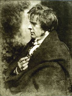 "fuckyeahhistorycrushes:  ""In the mid-1840s, the Scottish painter-photographer team of Hill and Adamson produced the first substantial body of self-consciously artistic work using the newly invented medium of photography.""  This photograph is of the artistic half of that partnership, David Octavius Hill, a romantic landscape painter and secretary of the Royal Academy of Scotland, who ""possessed a geniality, a 'suavity of manner and absence of all affectation,' that immediately set people at…"