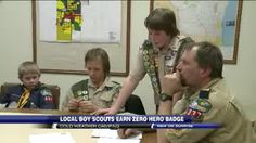 Local Troop Braves Subzero Temperatures for Badges #boyscouts