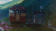 This HD wallpaper is about Anime, Your Name., Kimi No Na Wa., Train, Original wallpaper dimensions is file size is Kimi No Na Wa, Name Wallpaper, Scenery Wallpaper, Paleta Pantone, Casa Anime, The Garden Of Words, Your Name Anime, Anime Gifs, Anime Places