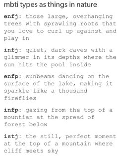 ENFJ, ENFP, INFP equally here
