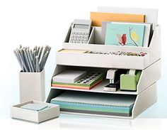 When Organizing Office Supplies: Be Ruthless  Find this tip on our website:  www.sforganziedinteriors.com