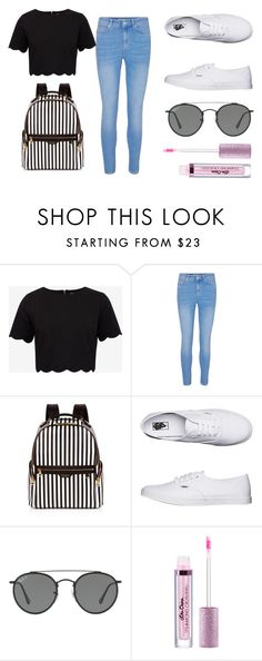 """""""casual"""" by lucygracebirch ❤ liked on Polyvore featuring Ted Baker, Henri Bendel, Vans and Ray-Ban"""