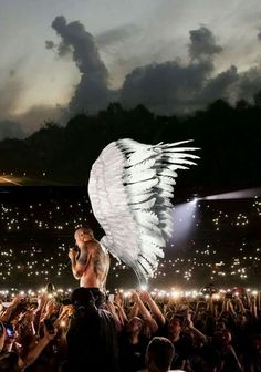 This one appeared in the sky a few days after Chester's death. Chster you are my angel forever.