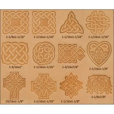 18 Best Leather Stamps Tools Images