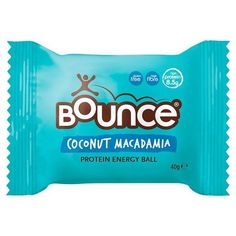 Bounce  Protein Energy Ball 40g  ( Coconut Macadamia,Peanut,Almond ) #BOUNCE