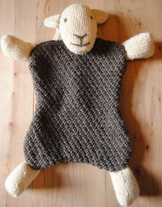 Sheep hot water bottle cover. Great FREE pattern PDF. http://www.herdy.co.uk/media/downloads/patterns/herdy-hwb-knit-kit.pdf