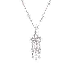 Fabergé Voile Blanche Pendant #Fabergé  #diamond #pendant