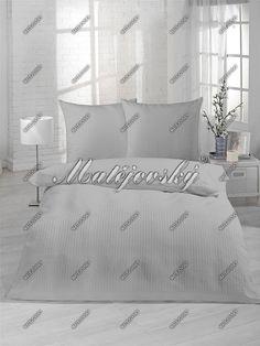 Krepové návliečky SVETLO ŠEDÉ | navliecky.sk Bed Pillows, Pillow Cases, Home, Pillows, Ad Home, Homes, Haus, Houses
