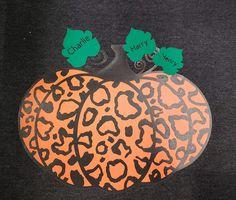 Thank you to Amanda Jo Lemm for sharing her creation with me! I love it! Animal Leopard Print Pumpkin Fall Autumn SVG Cut File Fall Pumpkins, Svg Cuts, Cutting Files, Amanda, Cricut, Autumn, Animals, Animales, Fall Season