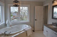 Incredible Master Bathroom, perfect for the ultimate relaxation!