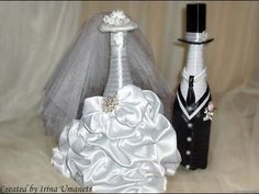 ▶ MANY WEDDING BOTTLE COUPLES FOR INSPIRATION - Свадебные бутылки фото - YouTube