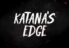 Free Font: Κatana's Edge Typeface › FreeTypography