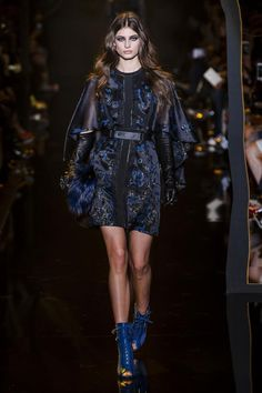 """mulberry-cookies: """"Taylor Hill @ Elie Saab Fall/Winter 2015 """""""