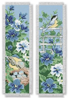 A beautiful summertime cross stitch pattern from Bookmark Medley. Click the photo to find the eBook on our website (available for download for $5.99) - Leisure Arts, Inc.