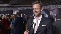 Fifty Shades Darker: Eric Johnson Movie Premiere Interview