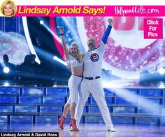 Lindsay Arnold's 'DWTS' Blog: Why I Connected With David RossImmediately