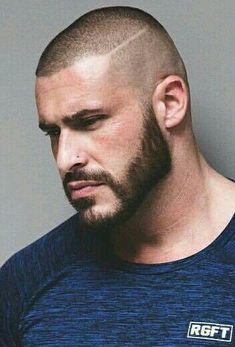 Popular Haircuts For Short Hair Men Popular Haircuts, Cool Haircuts, Haircuts For Men, Bald Head With Beard, Bald Men With Beards, Short Beard, Short Hair Cuts, Short Hair Styles, Buzz Cut Styles