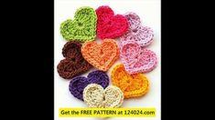 crochet heart garland how to make a crochet heart heart crochet patterns beginners