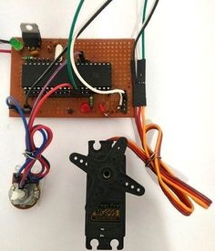 Interfacing Servo Motor with PIC Microcontroller using MPLAB and Pic Microcontroller, Diy Store, Arduino, Hardware, Technology, Electronics Projects, Robots, Engineering, Tutorials