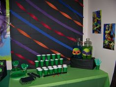 Teenage Mutant Ninja Turtles Birthday Party Ideas | Photo 1 of 39 | Catch My Party