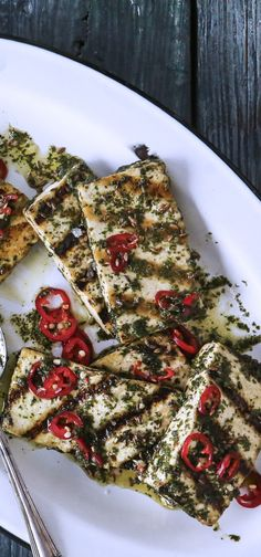 The food lab how to grill or broil tofu thats really worth grilled tofu with chimichurri asian recipesveggie forumfinder Gallery