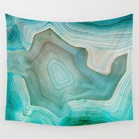 Wall Tapestry featuring THE BEAUTY OF MINERALS 2 by Catspaws