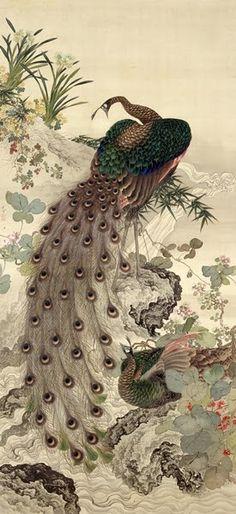 OKAMOTO Shuki (1807-1862), Japan 岡本 秋暉