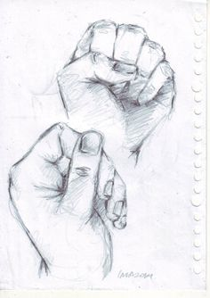 drawing by pencil on paper